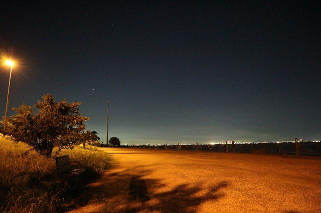 養老川臨海公園の夜