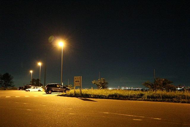 養老川臨海公園の夜2