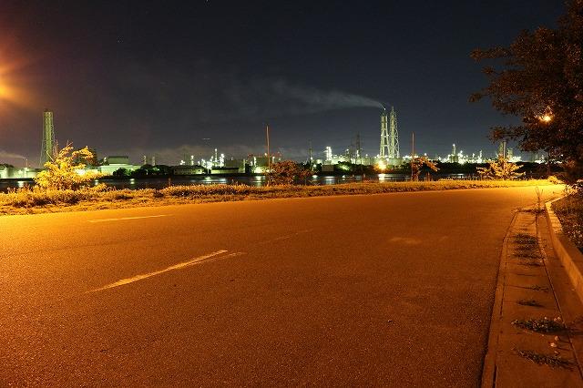 養老川臨海公園(工場夜景)