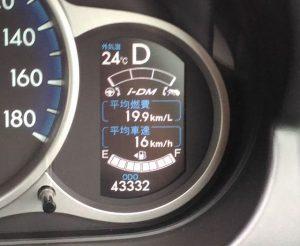 デミオスカイアクティブ2011年式実燃費19.9km/L