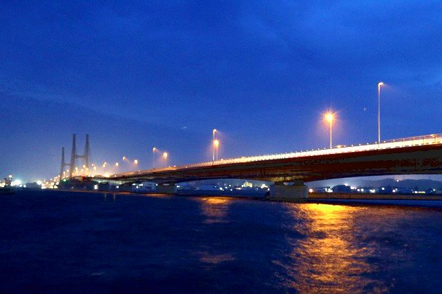 銚子大橋の夜景(調整済み)