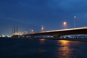 銚子大橋の夜景