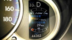デミオskyactiv13エンプティ燃油計