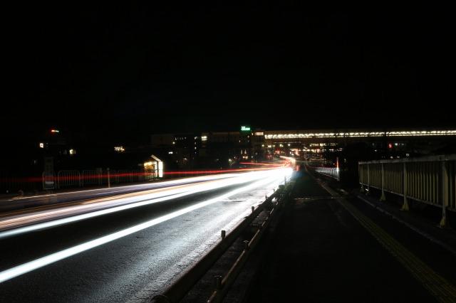 浦佐大橋(夜景)