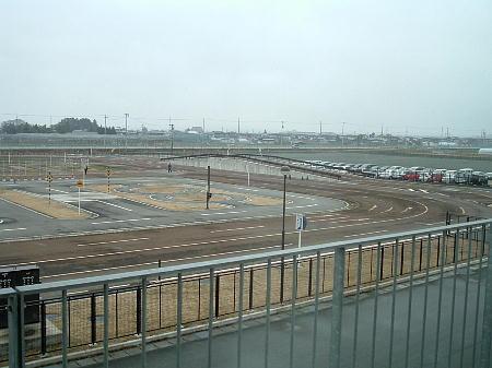 山形県交通安全センター二輪技能試験コース