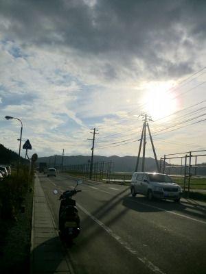 たぶん鮭川村の県道