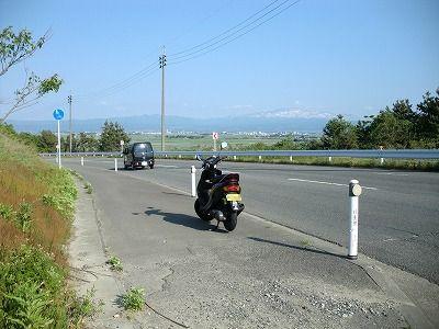 鶴岡市を望む