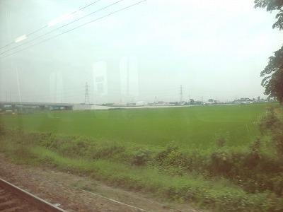 東北本線 埼玉県 車窓から。