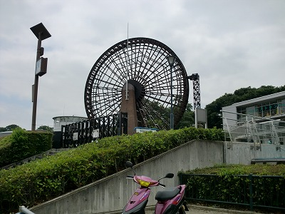 さいたま川の博物館 日本最大級の水車