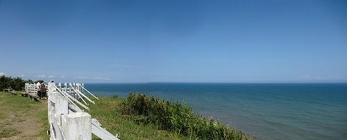いすみ市の太東崎より太平洋を望む