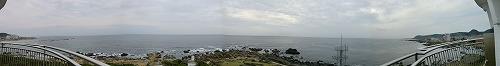 野島崎灯台から見た太平洋