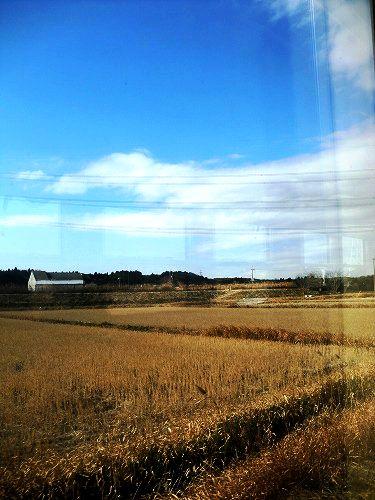 小湊鉄道の車窓より