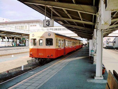 小湊鉄道、五井駅にて