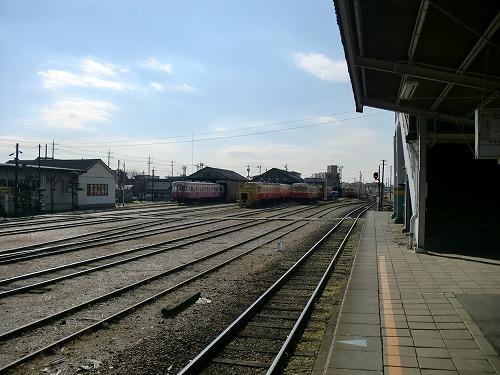 小湊鉄道車両倉庫