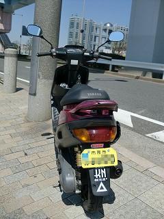 ZR70 台場にて