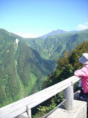 鳥海ブルーライン 奈曽渓谷