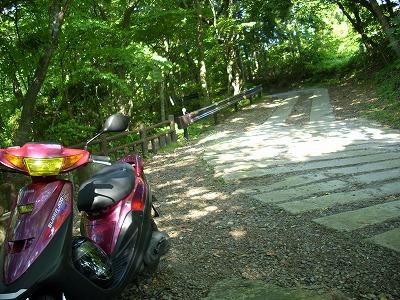 奈曽の白滝 悪路とZR