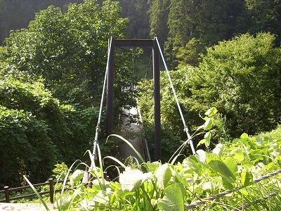 奈曽の白滝 吊り橋