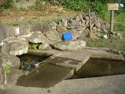 吹浦の大清水