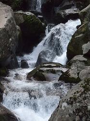 二ノ滝の上の滝 カメラテスト普通モード